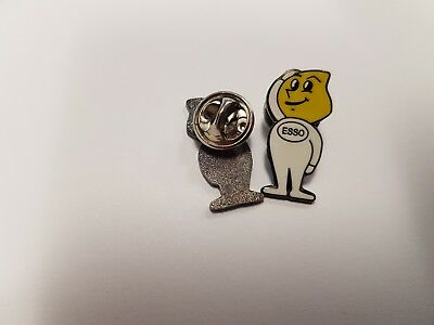 Esso Man Enamel Pin Badge Mods, Scooters, SKA OI! Skins Biker