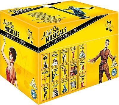 15 All time Hollywood Film Must See Musicals Movies Collection Boxset New R2 DVD