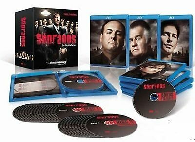Sopranos HBO TV Series 1-6 Complete Collection 1 2 3 4 5 6 BoxSet New UK BluRay