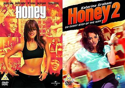 HONEY - Complete Series Part 1 2 Collection Brand New and Sealed UK Region 2 DVD
