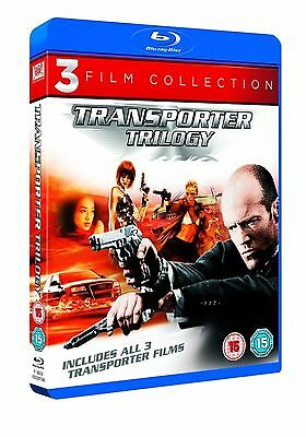 TRANSPORTER Series 1-3 Complete Movie Collection Part 1 2 3 New Sealed Bluray
