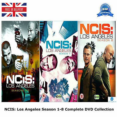 NCIS Los Angeles Season 1-8 Bonus Features Complete Collection New Region 2 DVD