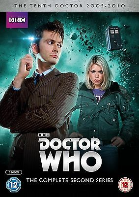 Doctor Who Complete Series 2 BRAND NEW AND SEALED UK REGION 2 DVD