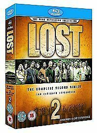 Lost - Series 2 - Complete 2nd Second Season 2009 New Sealed UK Blu-ray Box Set