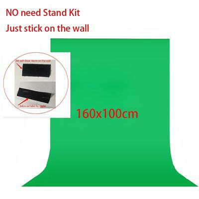 No Need Stand Kit 7colors 1.6x1m Photography Studio Green Screen Chroma Key Back