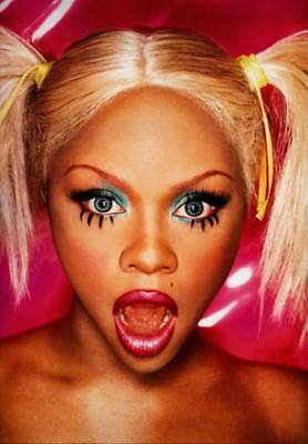 "MX35756 Lil Kim - American Queen Bee Rapper Music Star 14""x20"" Poster"