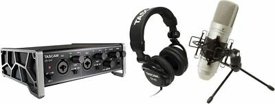 Tascam - US-2x2TP - Trackpack Complete Recording Package USB 2 With Software