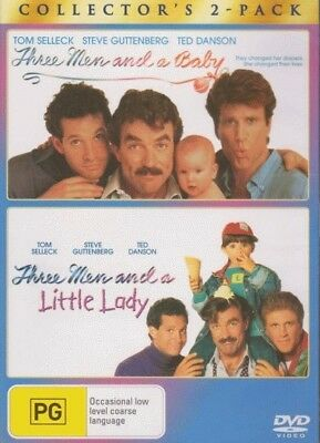 Three Men and A Baby / Three Men and A Little Lady = NEW DVD R4