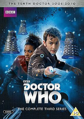 Doctor Who Complete Series - 3 BRAND NEW AND SEALED UK REGION 2 DVD