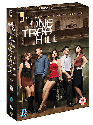 One Tree Hill -Series 6 Complete 6th Season Brand New and Sealed UK Region 2 DVD