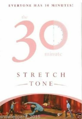 30 STRETCH TONE : FITNESS WORKOUT DVD STRETCHING TONING EXERCISES New UK R2 DVD