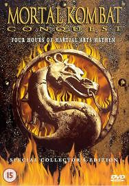 Mortal Kombat Conquest - 3 Action and Adventure Conquest Combat New Region 2 DVD