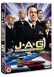 JAG - Series 5 - Complete All 5th Fifth Season Brand New Sealed UK Region 2 DVD