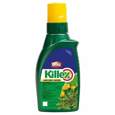 ORTHO KILLEX Lawn Weed Killer Concentrate 1L - 2 PACK