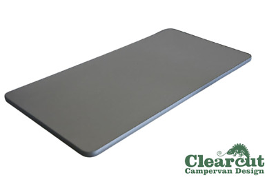800mm x 400mm Campervan, Motorhome, Table Top, Titanium Finish, Light Weight Ply