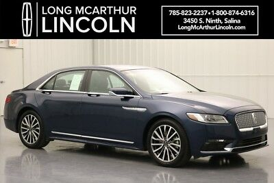 Lincoln Continental SELECT AWD NAV TWIN PANEL SUNROOF 2.7 TURBO V6  MSRP $55695 CERTIFIED PRE-OWNED, ADAPTIVE SUSPENSION, ACTIVE NOISE CONTROL, REMOTE START
