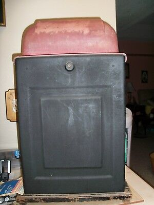 Sold-Antique 1940's Mills 10 Cent Bell Slot Machine