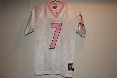 b486bb1e1 Reebok Authentic NFL Players Pink Steelers Roethlisberger Jersey Youth XL