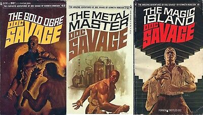Doc Savage Series by Kenneth Robeson 191 eBooks Adventure Novels Collection