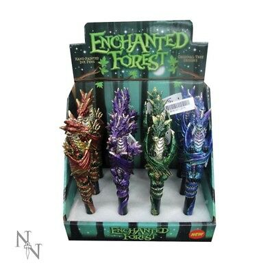 Enchanted Forest Dragon Set of 12 Pens