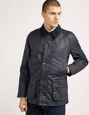 RRP 199£ BARBOUR ASHBY COUNTRY STYLE WAX Men's JACKET COAT