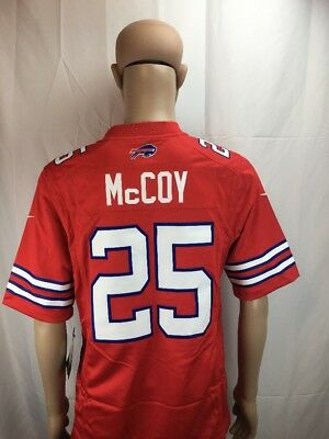 231976dadf1 Nike Mens LeSean McCoy Buffalo Bills Jersey Sz XL Authentic On Field Red  Game