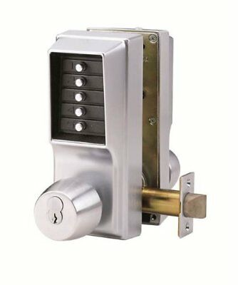 Kaba Simplex EE1000 Series Mechanical Push button or Key Mortise Entry Door Lock