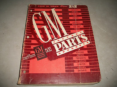 1929-1951 General Motors Factory Approved Parts Catalog  All Gm Cars & Trucks