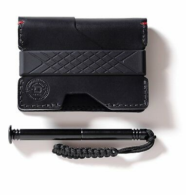 Dango - P01 PIONEER WALLET & DANGO PEN (Jet Black)