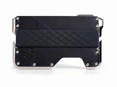 Dango - D02 Nickel Plated Dapper wallet (Jet Black)
