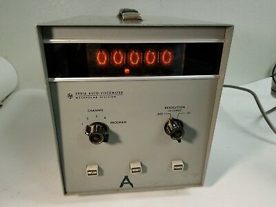 Rare Vintage Agilent HP Mechrolab Division 5901A Auto Viscometer w/ Tube Numbers