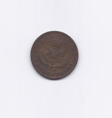 Bank of upper Canada tokens  1857  1/ 2 penny XF BR 720