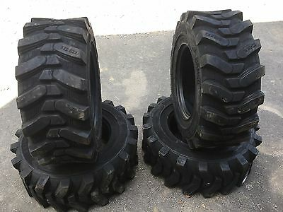 4-12-16.5 HD Skid Steer Tires - Camso SKS532-12X16.5 Xtra Wall-for Bobcat & more
