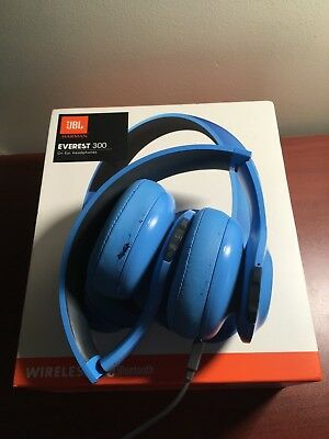 d8844134758 JBL EVEREST 300 Wireless On Ear Headphones - Blue - $29.00 | PicClick CA