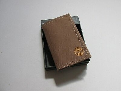 a2bed73aa95d TIMBERLAND MEN S NYLON Tri-Fold Wallet New -  18.99