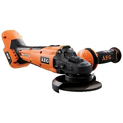 2018 AEG 18V 125mm Cordless Brushless Angle Grinder Skin - NEW