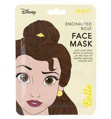 Official Disney Princess Beauty & The Beast Belle Face Mask : 90s Movies