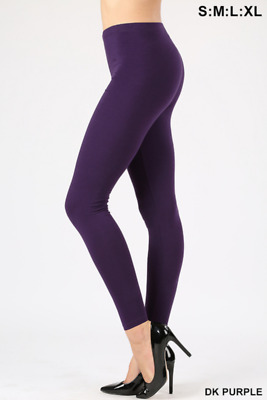 5b581cf7d0514d Zenana Outfitters Long Leggings Cotton High Waist Workout Gym Sport Yoga