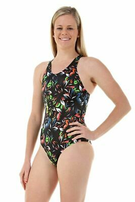22561c93ec7b4 NOVA SWIMWEAR LADIES Sport Back Bouquet One Piece Chlorine Resistant  Swimsuit