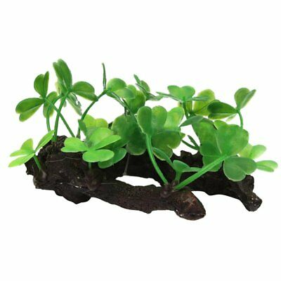 New Artificial Plastic Plants Grass Water Ornaments for Aquarium Fish Tank D9C2