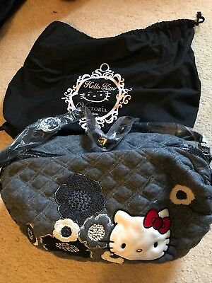 a799f1c04b NWT Hello Kitty Victoria Couture Crossbody Roller Bag Retail  240