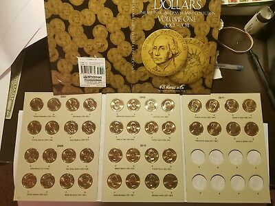 HE Harris Vol 1 Complete Set (P&D) 2007-2011 Presidential Gold Dollars. 40 Coins