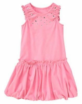Gymboree NWT Tea Time Afternoon Pink Basic Tank Size 4 5