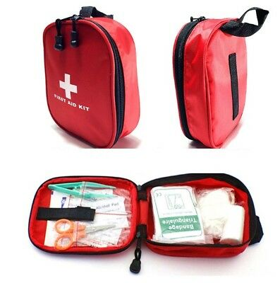 120 Piece First Aid Kit Emergency Medical Bag Home Car Outdoor Hiking Survival