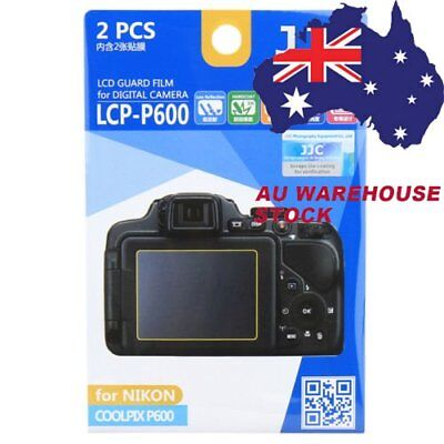 JJC LCP-P600 LCD Film Camera Screen Display Protector for NIKON COOLPIX P600 _AU
