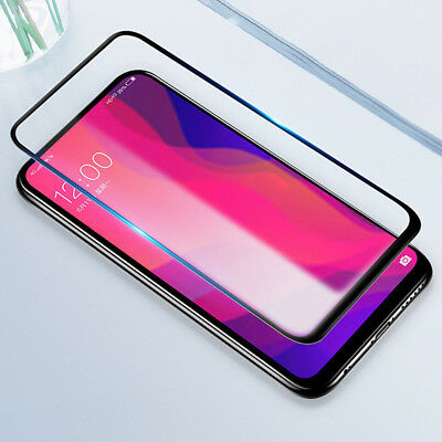 For OPPO Find X 9H Full Cover Black 3D edge Tempered Glass Screen Protector Film