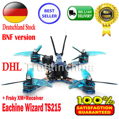 BNF Eachine Wizard TS215 FPV Racing RC Drone 1200TVL Camera + Frsky XM+Receiver