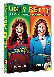UGLY BETTY - Series 4 Complete 4th Fourth Season Brand New Sealed Region 2 DVD