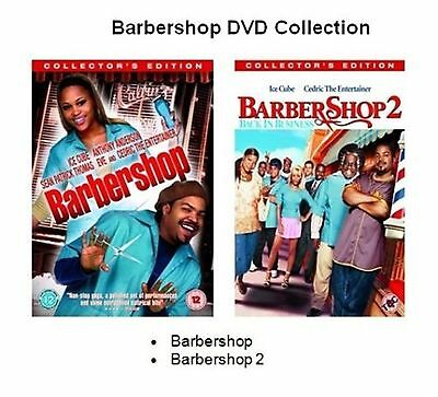 Barbershop Series 1-2 Double Pack Collection Brand New Sealed Uk Region 2 Dvd