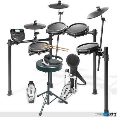 Alesis Nitro-MESH Electronic Drum Kit, Stool, Sticks, Pedals and Headphones Deal